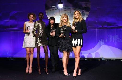 InTouch Award Bar Refaeli und Carmen Geiss sexy auf dem