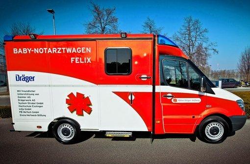Björn Steiger Stiftung Baby Notarztwagen