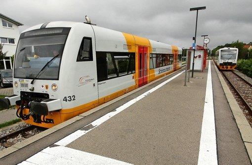 Bahnprojekt Schönbuchbahn: Unter Strom durch den Schönbuch - Stuttgarter Nachrichten