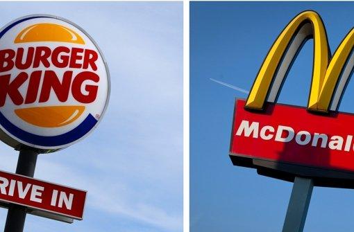 mcdonalds und burger king aus der friedenspfeife wird kein friedensburger politik. Black Bedroom Furniture Sets. Home Design Ideas