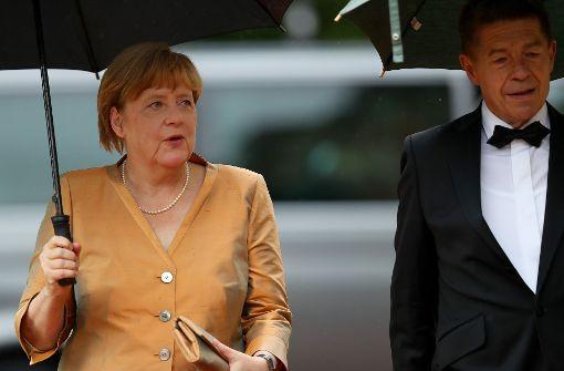 Beginn der Bayreuther Festspiele Angela Merkel und Horst