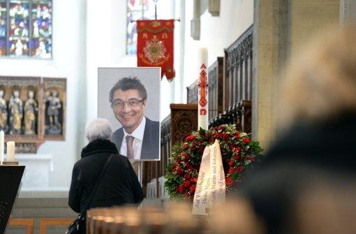 Abschied von CDU-Politiker: Trauerfeier von Schockenhoff - Stuttgarter Nachrichten