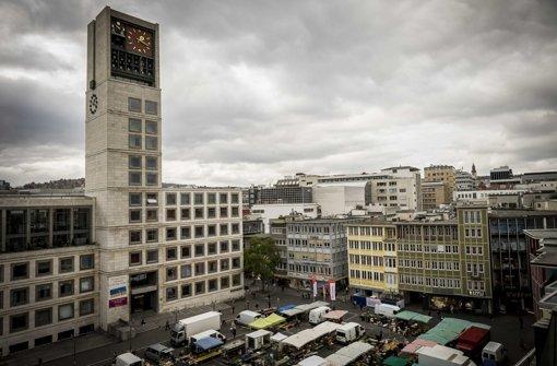 Debatte  Marktplatz Stuttgart Wohnzimmer der Stadt