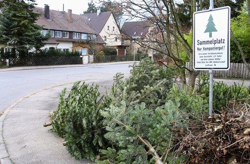 Blaulicht aus der Region Stuttgart : 11. Januar: Mit Weihnachtsbäumen von ... - Stuttgarter Nachrichten