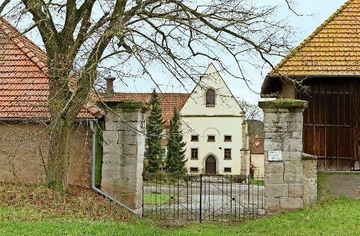 Ehemaliges Kloster bei Sachsenheim Domäne Rechentshofen