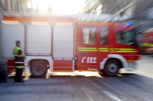 Auto brennt auf A81 aus