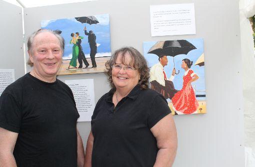 Ausstellung In Stuttgart Kaltental Der Singende Butler