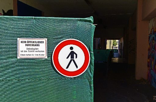 Fu weg beim depot in stuttgart ost wochenmarkt nur auf for Depot feuerbach