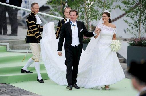 Brautkleider der Prinzessinnen: Prinzessin Madeleine tanzt aus der ...