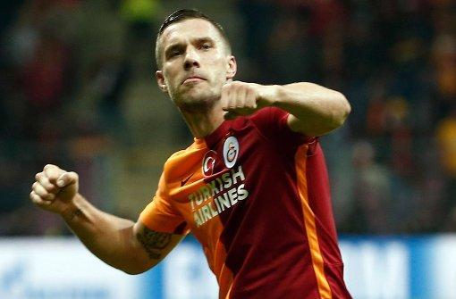 Rückenwind für Lukas Podolski
