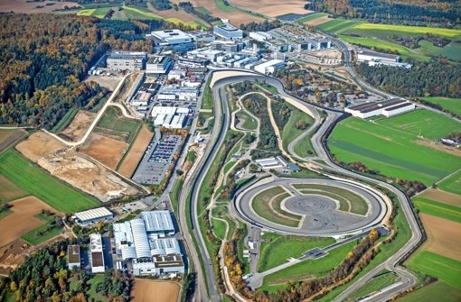 Porsche investiert in Weissach mehrere 100 Millionen Euro. Foto: Holger Leicht