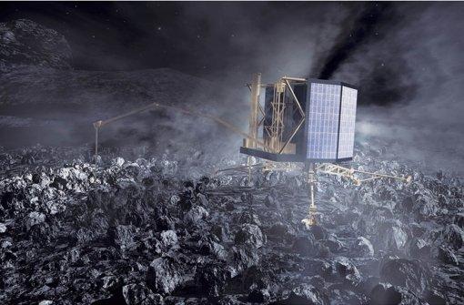 Roboter Philae geht in den ewigen Winterschlaf