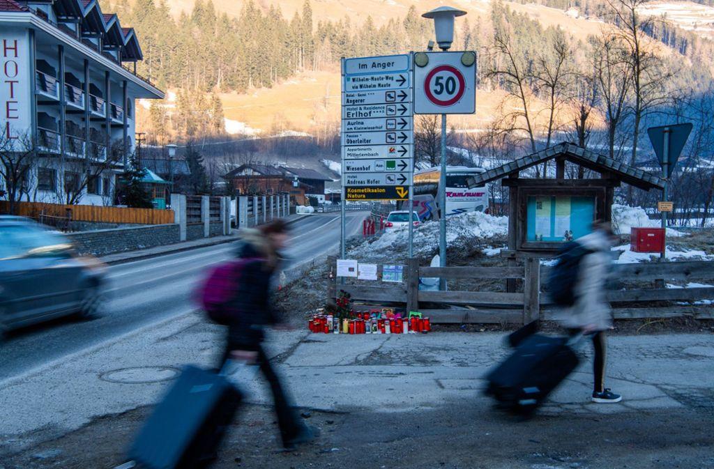 Unfall Südtirol Opfer