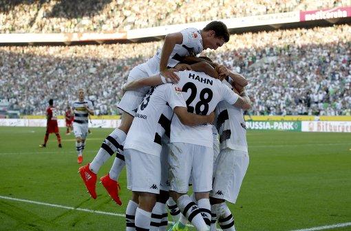 Gladbach bezwingt Leverkusen