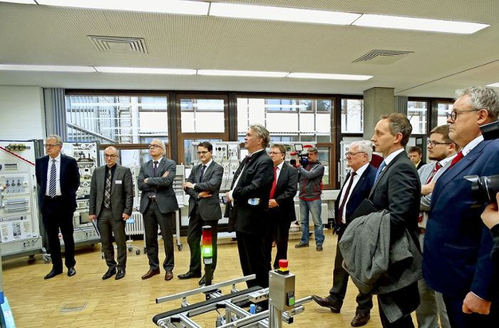 Green Factory in  Göppingen: Handwerk hat digitale Zukunft