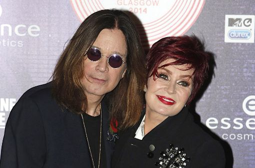 Der Kult-Rocker Ozzy Osbourne und seine Frau Sharon Foto: PRESS ASSOCIATION