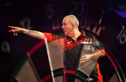 Der Abgang einer Legende: Phil Taylor Foto: Getty