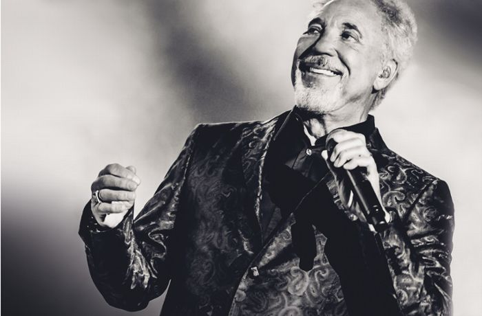 KSK Music Open 2019 in Ludwigsburg: Tom Jones singt im Schlosshof