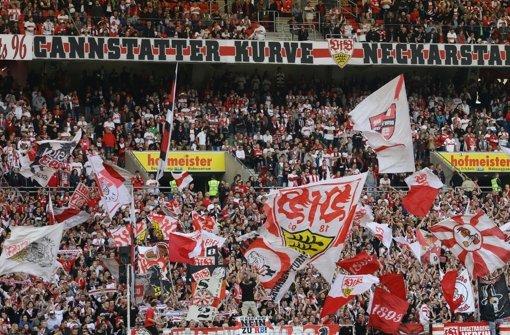 Gegen Borussia Dortmund rechnet der VfB wieder mit einem vollen Haus Foto: Baumann