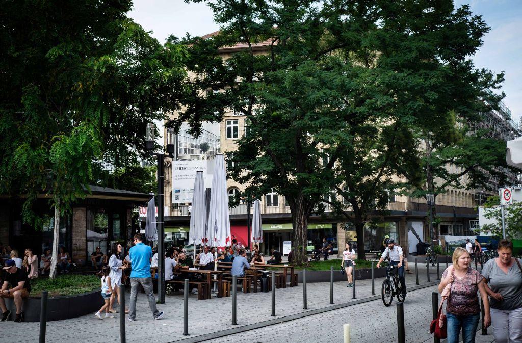 Palast der Republik in Stuttgart: Feierabendtreff soll