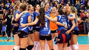 Allianz MTV bietet Volleyball-Spektakel