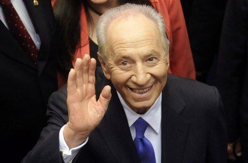 Früherer Präsident Peres stirbt nach Schlaganfall