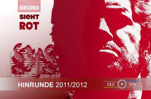 17 Spieltage, 17 Mal Bruno sieht rot