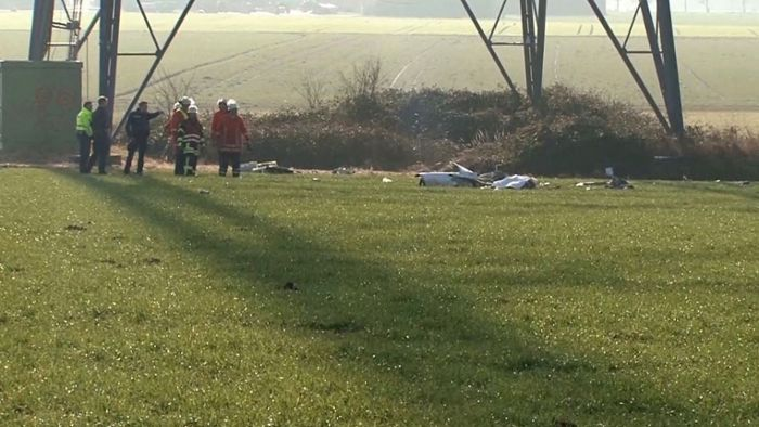 Pilot stirbt nach Crash mit Windkraftanlage