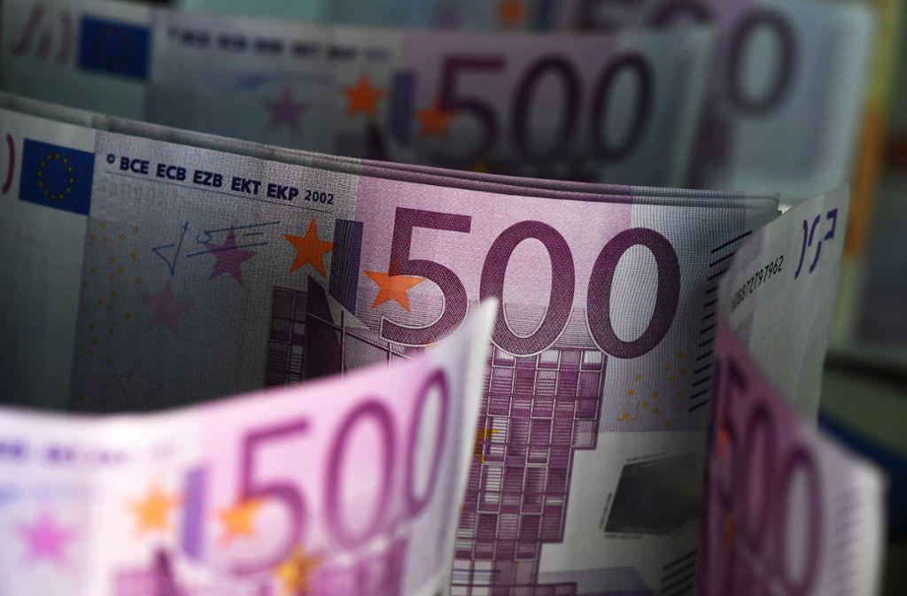 Der 500 Euro Schein Wird Abgeschafft Die Deutschen Lieben Ihr Bargeld Wirtschaft Stuttgarter Nachrichten