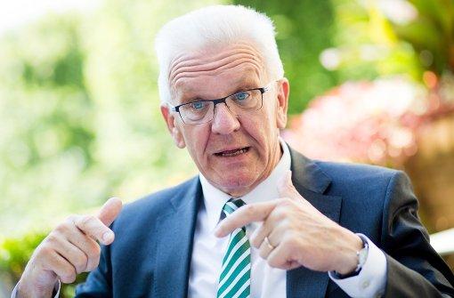 Kretschmann spricht sich für Schwarz-Grün im Bund aus