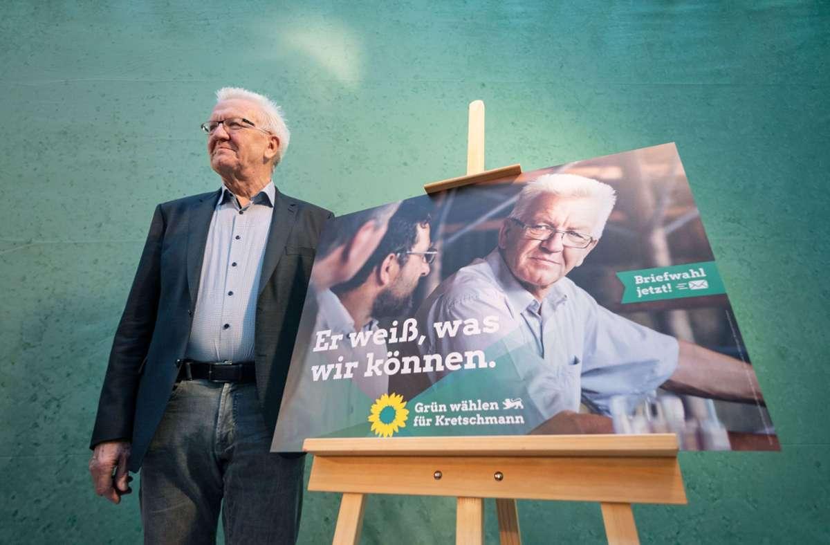 Landtagswahl 2021 Sudwest Grune Rufen Zur Briefwahl Auf Baden Wurttemberg Stuttgarter Nachrichten