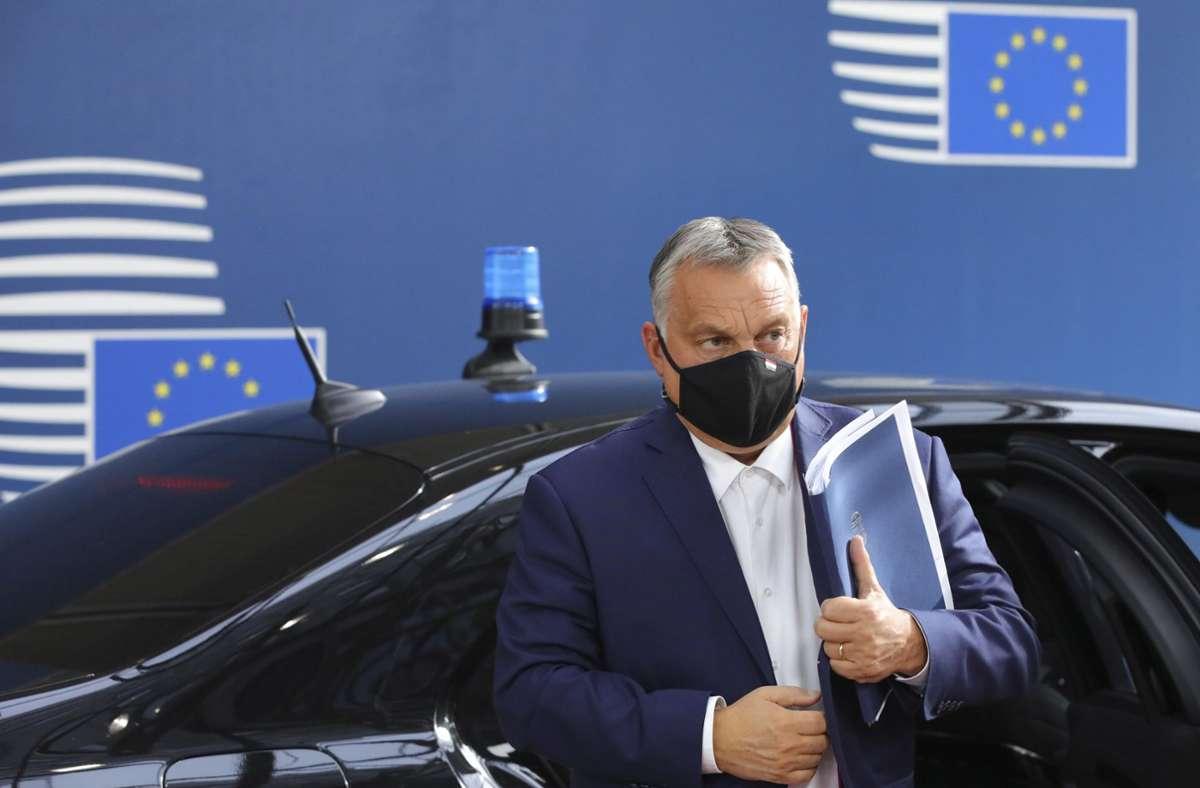 Haushaltsstreit um Corona-Hilfen - EU erhöht den Druck...