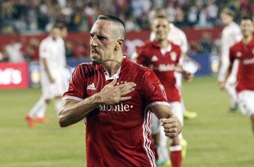 Alles dreht sich um Franck Ribéry