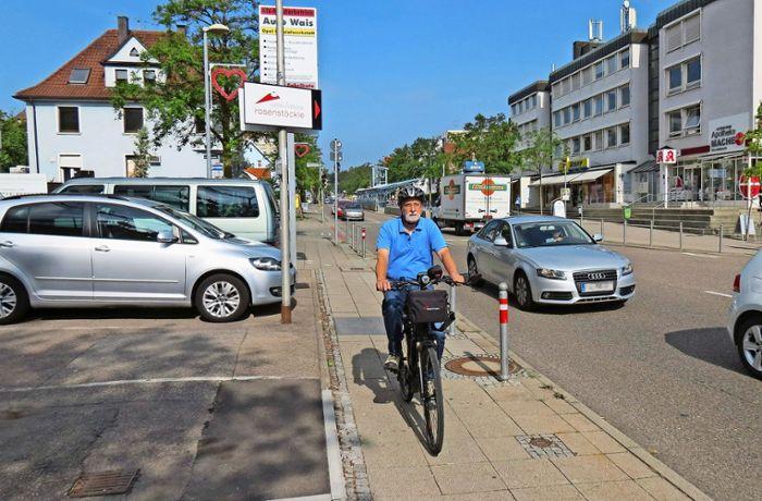 Test der Hauptradroute 10 in Stuttgart: Schöne Strecke mit