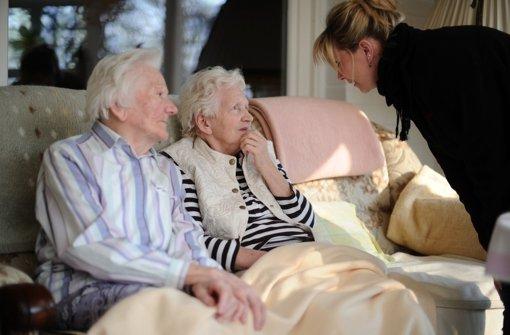 Der Pflegenotstand im Südwesten weitet sich immer mehr aus. Foto: dpa