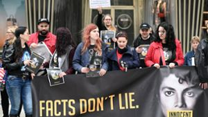 "Fan-Demo gegen ""Leaving Neverland"""