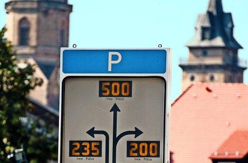 Neues Parkleitsystem lässt auf sich warten