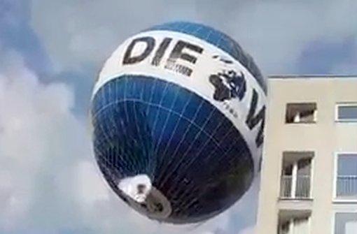 Berliner Aussichtsballon darf vorerst nicht starten