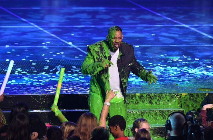 Kids' Choice Awards: Schleimduschen für Will Smith und Chris Pratt