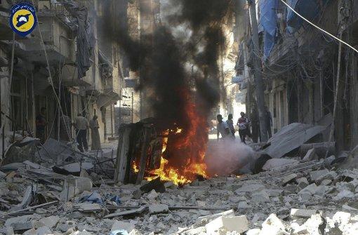Luftangriff trifft Klinik in Aleppo