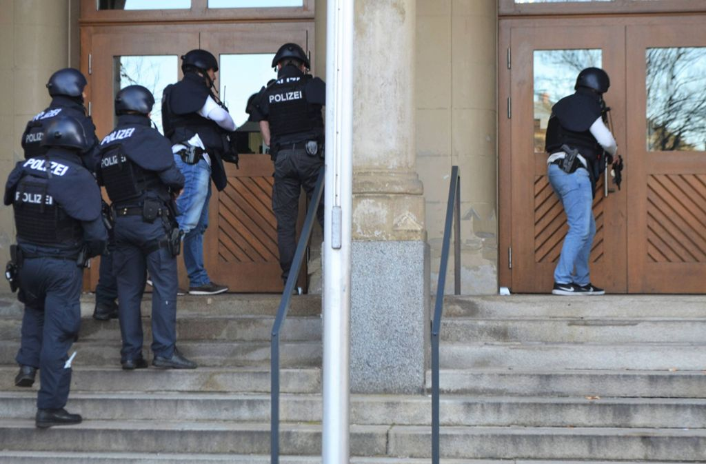 Polizeieinsatz Pforzheim
