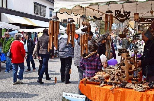 Markttag zum 1. Mai