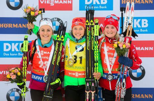 Dahlmeier holt mit Sprintsieg neunten Weltcuperfolg