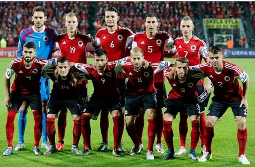 Em Albanien Frankreich