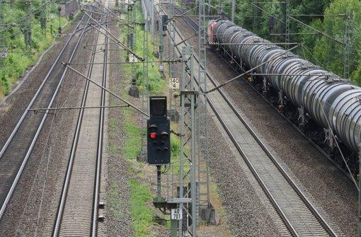 Ein Güterzug bei Offenburg: Foto: dpa