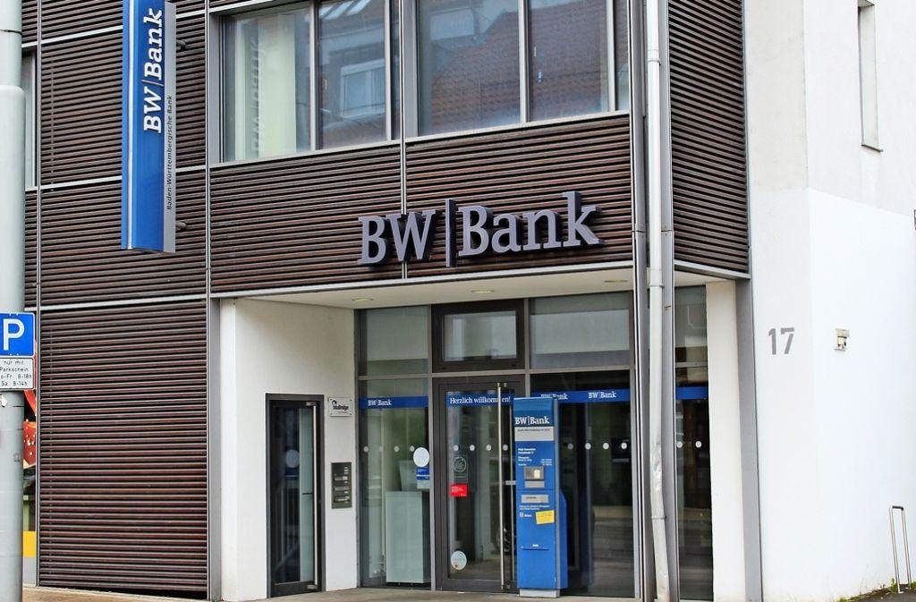 Stuttgart-Stammheim: Der Neue Weg Der BW-Bank Sorgt Für