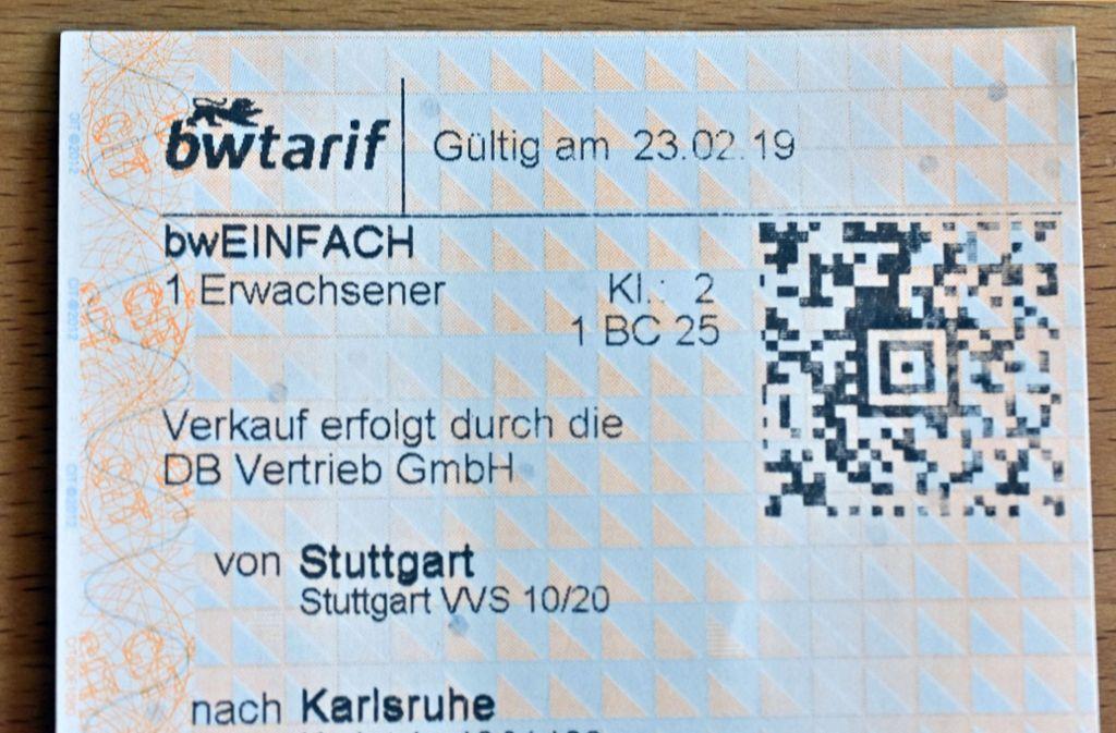 Baden Wurttemberg Karte Db.Der Neue Bw Tarif Im Bahnverkehr Bw Tarif Offenbar