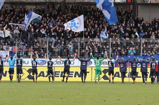 Die Stuttgarter Kickers haben einen neuen Schatzmeister. Hans-Joachim Zumsande übernimmt den Posten bei den Blauen. Foto: Pressefoto Baumann