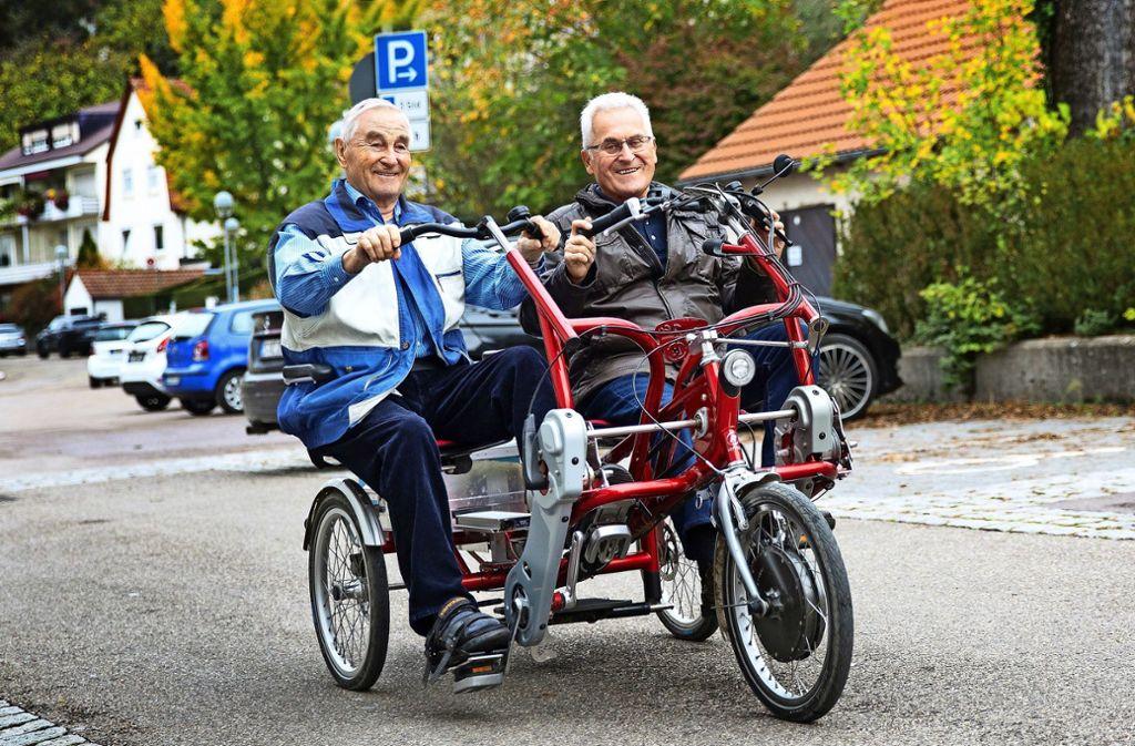 Senioren helfen Senioren in Plochingen - Radfahrspaß für Senioren kommt gut an - Stuttgarter Nachrichten