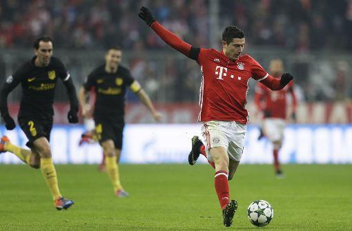 Lewandowski beschert FC Bayern Prestigesieg gegen Atlético